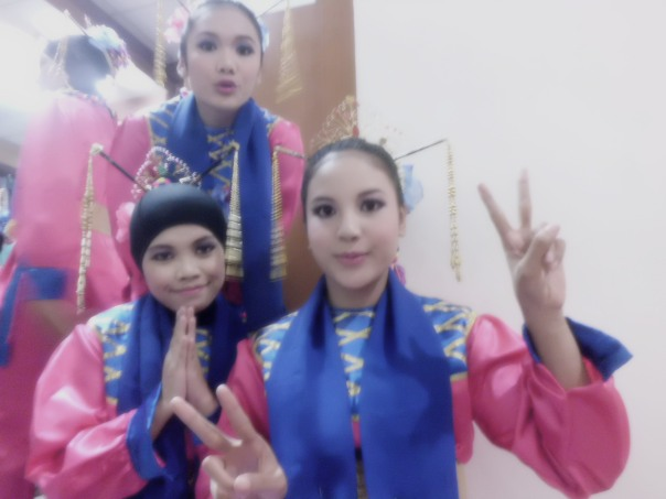 me and dancers