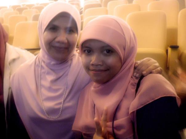 me and Helvi Tiana Rosa