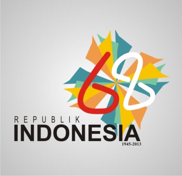 Karya:  Muhammad Reggi Herlianda Colorfull, Simplicity, Elegant 3 tema ini yg saya ambil untuk logo HUT RI yang ke-68 Mewakili Indonesia yang beragam, sederhana, namun kuat